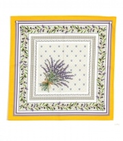 Serviette Place Lauris Jaune Serviet 45x45 cm
