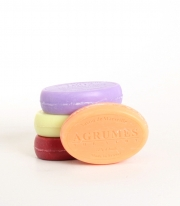 Savon de Marseille Mix 4x100 g Oval Sæbe Mix 3 Le Chatelard